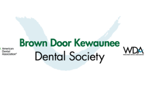 Brown-Door-Kewaunee-Dental-Society-logo190